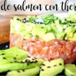 Salmon Tartar with Thermomix