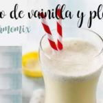 Vanilla and banana shake with thermomix