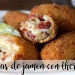 Ham croquettes with the Thermomix