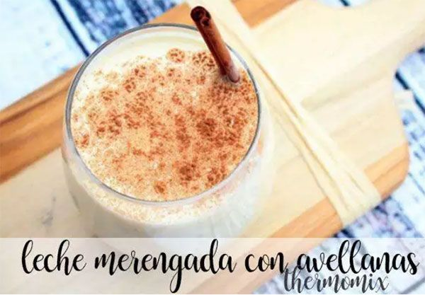 Hazelnut Meringue Milk with thermomix