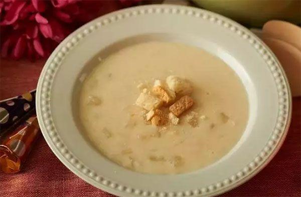 Zimna zupa kokosowa w Thermomixie