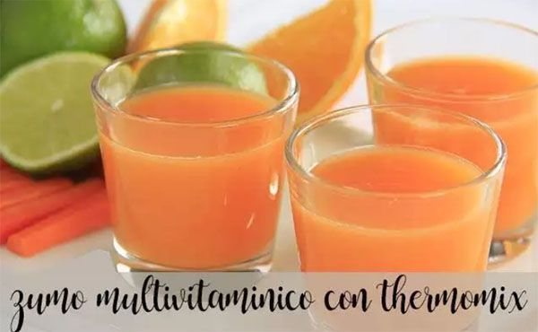 Juice or Multivitamin with Thermomix