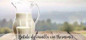 Vanilla shake with thermomix
