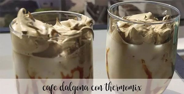 Dalgona Coffe with Thermomix