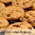 Cookies with chocolate chips in the Thermomix