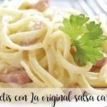 Spaghetti carbonara with Thermomix