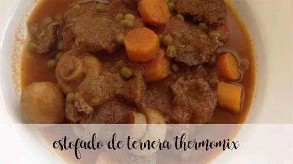 Veal stew with the Thermomix