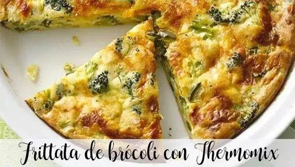 Broccoli Frittata with Thermomix