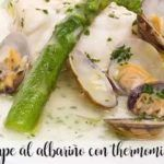 White wine monkfish with thermomix