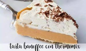 Banoffee Cake with thermomix