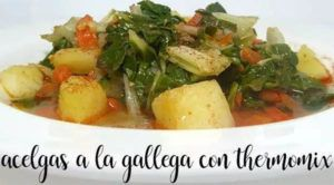 Galician chard with Thermomix