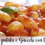 Potato gnocchi with thermomix