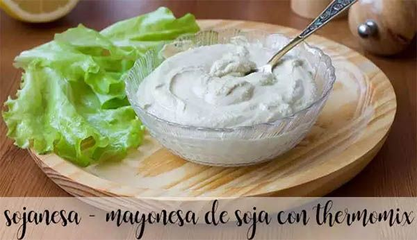 Sojanesa - Soy mayonnaise with thermomix