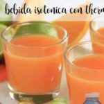 Isotonic drink with Thermomix