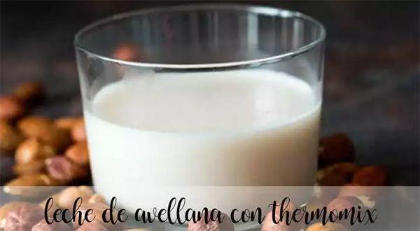 Mleko z orzechów laskowych z Thermomixem