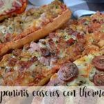 Paninis with thermomix