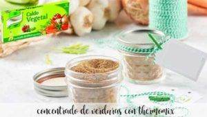 Vegetable stock paste thermomix