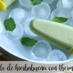 Peppermint Popsicle with thermomix