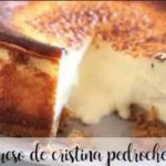 Cristina Pedroche's cheesecake with thermomix
