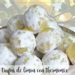 Lemon truffles with thermomix