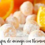 Orange truffles with thermomix