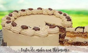 Mocha cake with thermomix