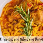 20 recipes with noodles with thermomix