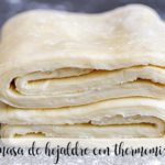 Puff pastry with Thermomix