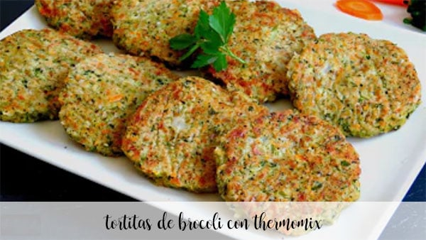 broccoli pancakes with thermomix