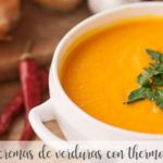 30 vegetable creams with Thermomix