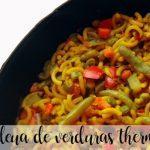 Fideua vegetables thermomix
