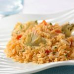 Rice with artichokes thermomix