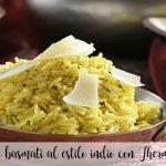 Indian-style basmati rice with Thermomix