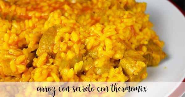 Rice with secret in Thermomix
