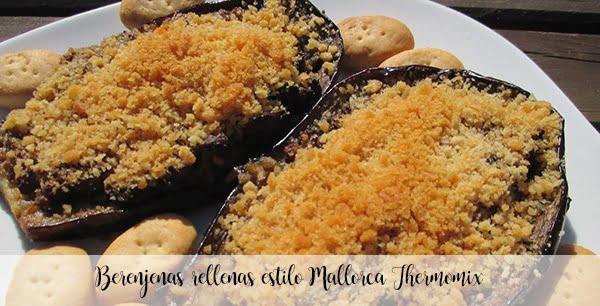 Stuffed aubergines Mallorca style Thermomix