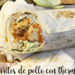 Chicken burritos with thermomix