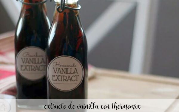 vanilla extract with thermomix