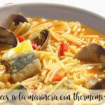 Seafood noodles with Thermomix