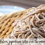Japanese soba noodles with thermomix
