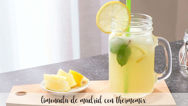 Madrid lemonade with thermomix