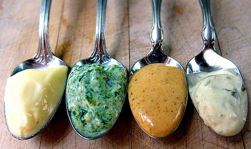 Flavored mayonnaise with Thermomix