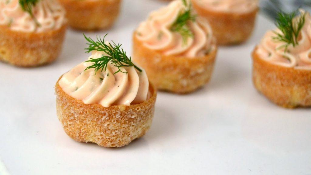 salmon mousse with thermomix