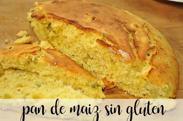 Gluten-free corn bread with thermomix