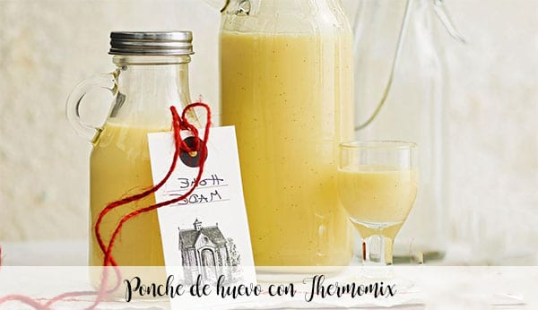 Eggnog with Thermomix