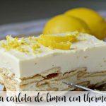 Carlota lemon cake with Thermomix