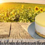 Frozen lemon cake with Thermomix
