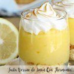 Lemon Verrine Cake With Thermomix