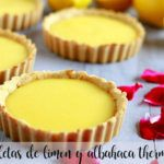 Lemon and basil tartlets with Thermomix