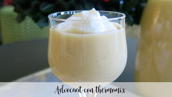 Advocaat with thermomix