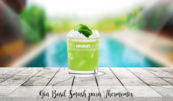 Basil Smash Gin for Thermomix